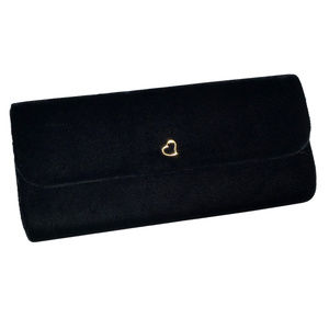 ♛5/$25♛ NWOT Victoria's Secret Black Velvet Clutch